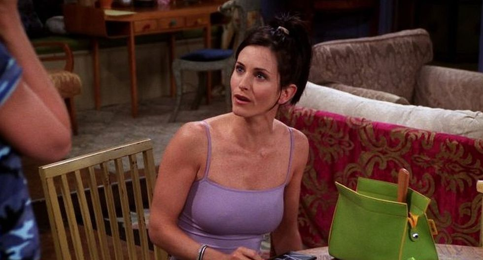 "La actriz Courteney Cox interpretó a Mónica Geller en la serie ""Friends"". (Foto: NBC)"