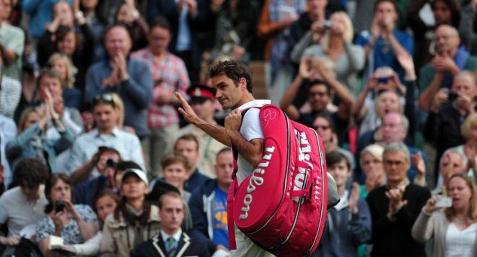 Roger Federer fue eliminado de Wimbledon por el número 116 de la ATP (Foto: AFP)