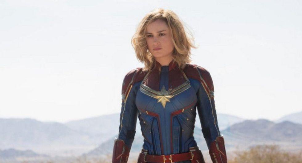 Brie Larson cobró mayor fama por su papel de Capitana Marvel.