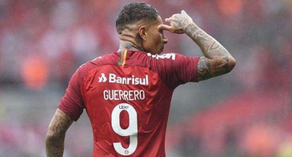 Paolo Guerrero terminó el año con 20 goles con camiseta de Internacional de Porto Alegre. (Foto: SC Internacional)