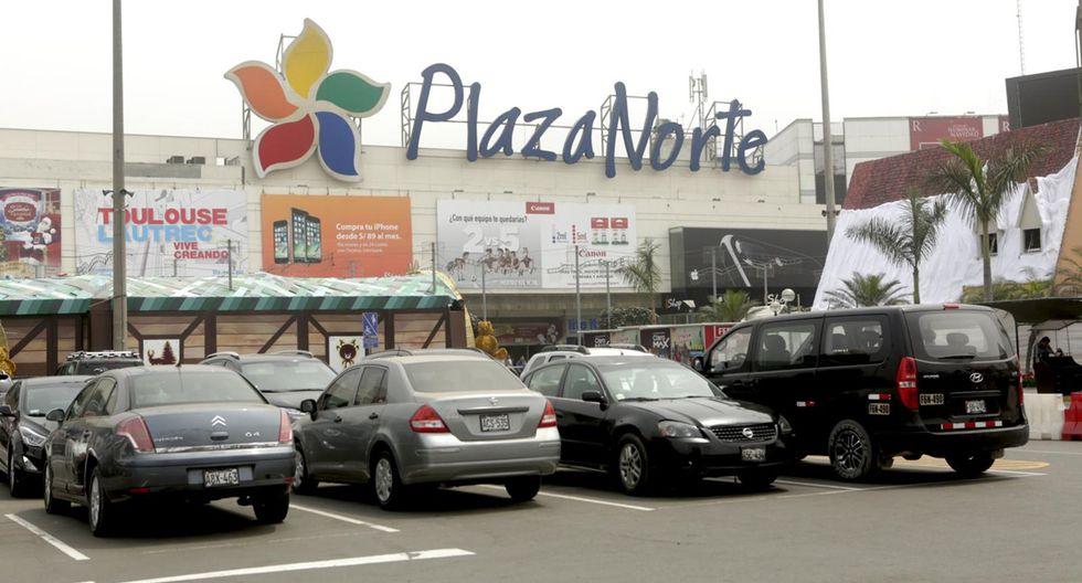 El pánico se desató en Plaza Norte este domingo.
