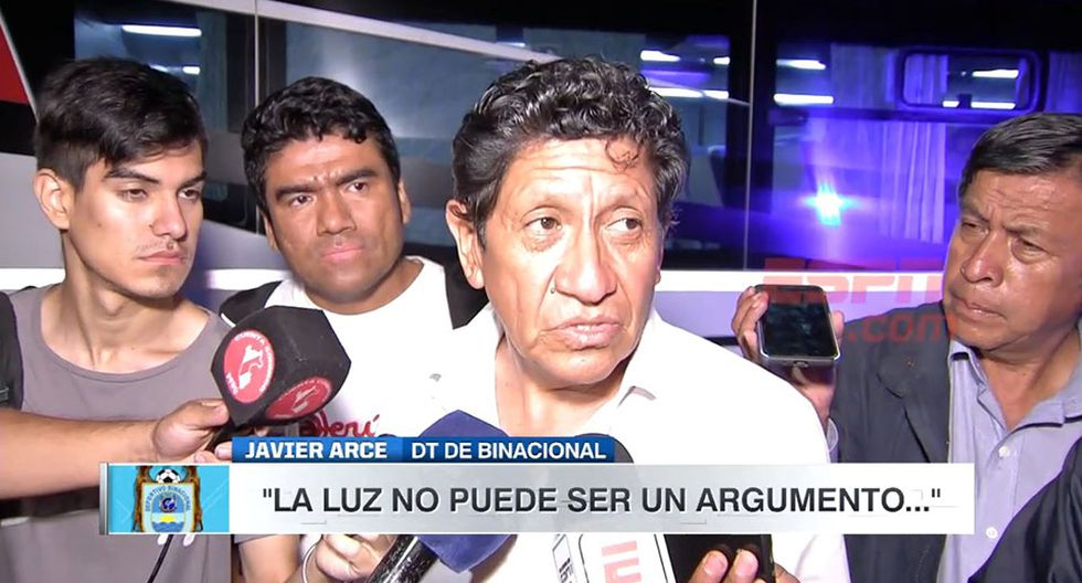 Javier Arce, DT de Binacional, lamenta el no poder enfrentar a Independiente en Juliaca. (Video: ESPN)