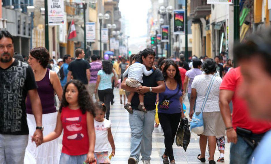 INEI reveló la cifra de peruanos según el último censo nacional.