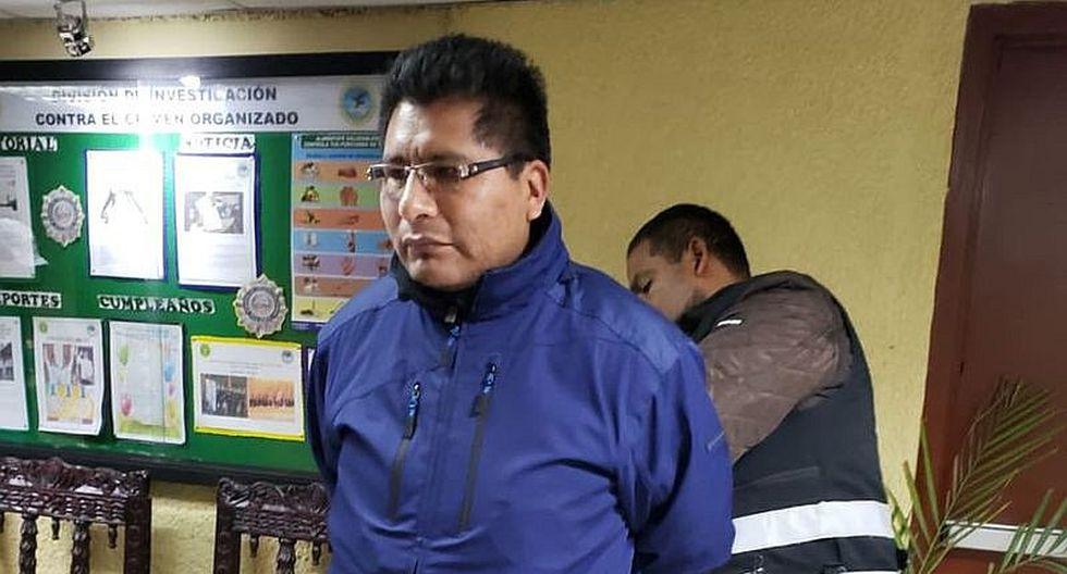 Aduviri Calisaya fue hallado culpable de ser coautor ejecutivo del delito de disturbios durante las acciones ocurridas en 'aimarazo' del 2011. (Foto: GEC)