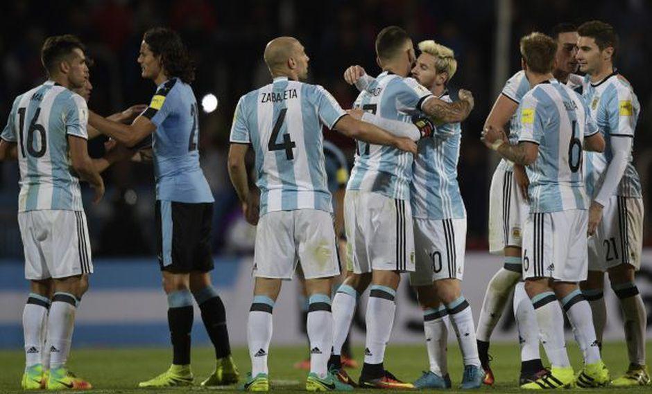 Lionel Messi anotó el único gol. (AFP)