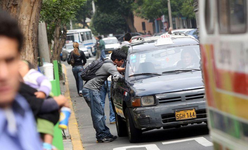 La empresa había prestado servicio a un pasajero que fue víctima de un asalto en su puerta de su casa. (Foto: Andina)