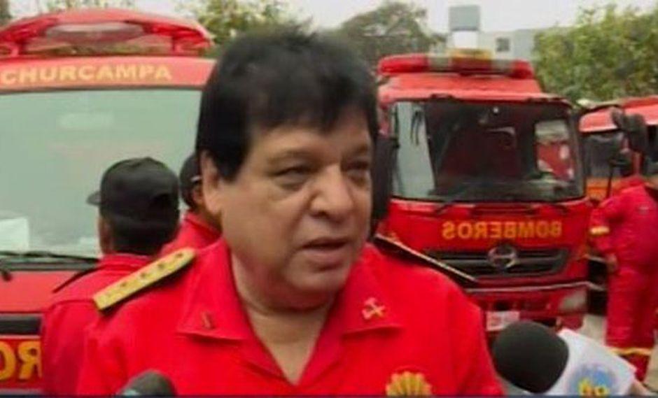 El comandante general de los Bomberos del Perú anunció que se ha puesto en marcha un importante convenio con el Ejército peruano. (Foto: Captura/Canal N)