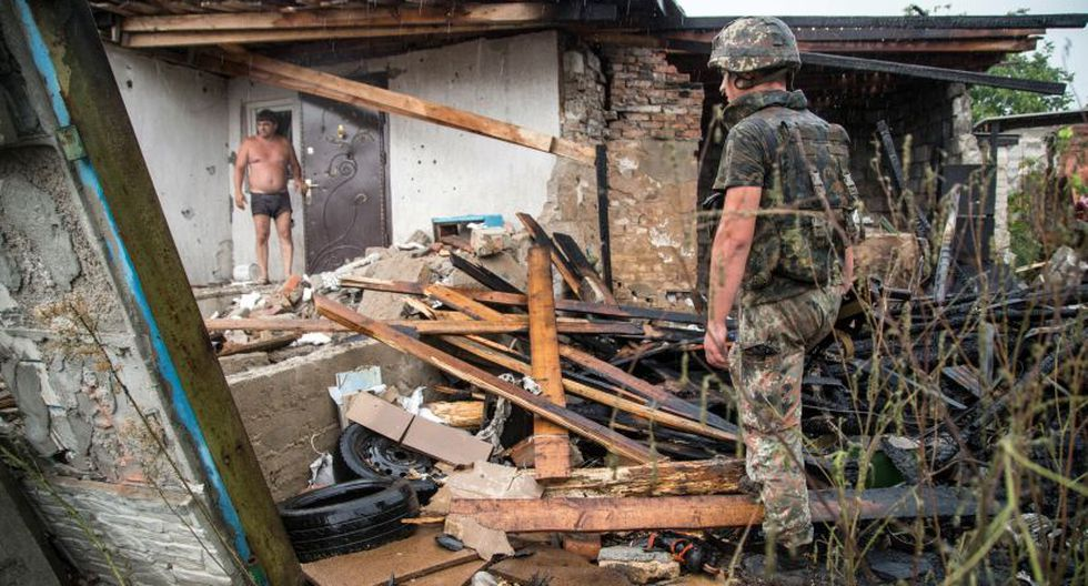 Siguen los combates entre ucranianos y prorusos (Foto: AFP)