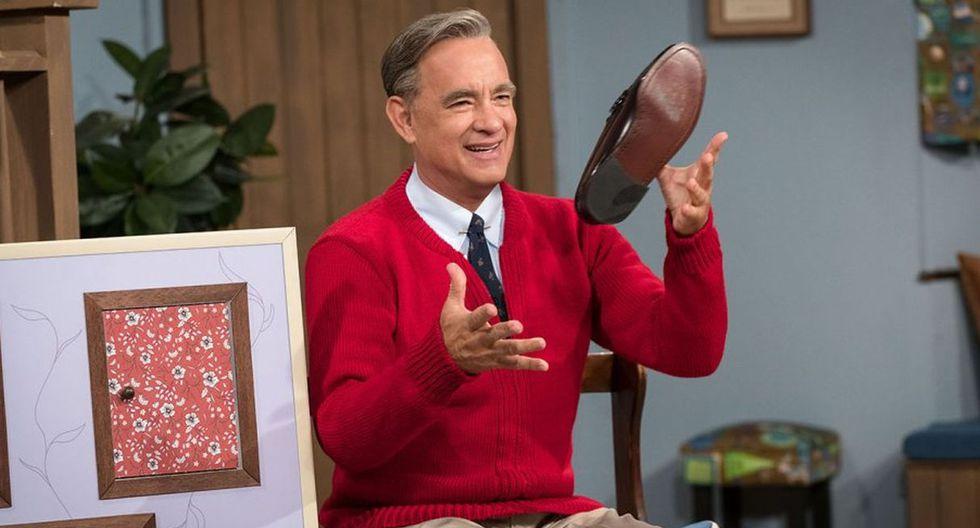 """Tom Hanks, eternamente """"desafiado"""" tras meterse en la piel de Mister Rogers. (Foto: Sony Pictures Entertainment)"""
