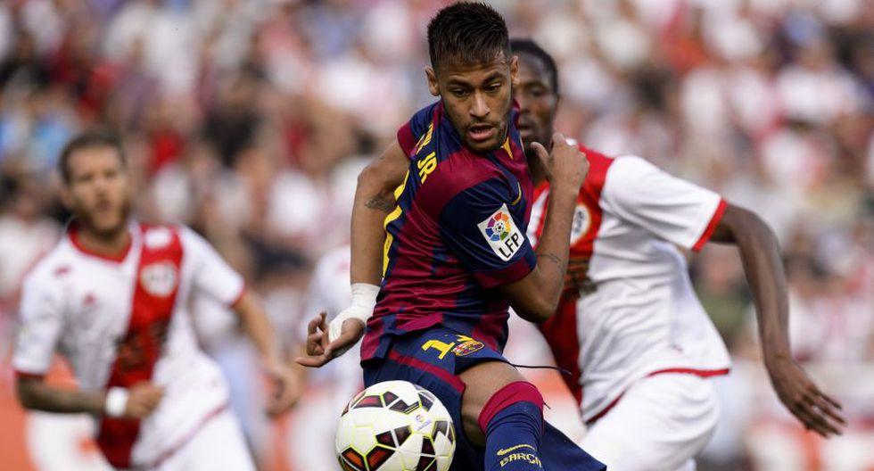 Neymar. Neymar sería otra de las estrellas que estará desde el arranque. El precio de este brasileño supera los 88 millones de dólares.(AFP)