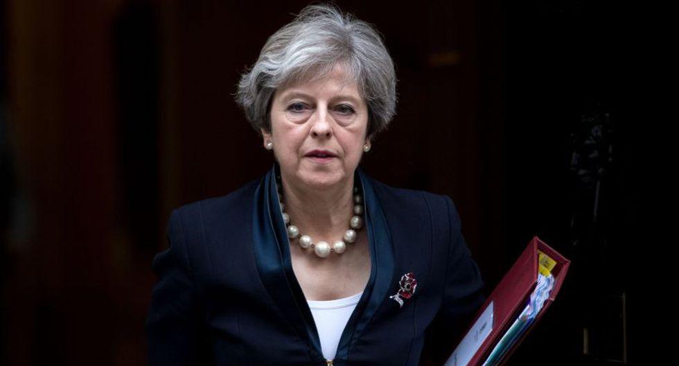 Theresa May llegó al poder en las caóticas semanas posteriores al referéndum del Brexit. (Foto: AFP)