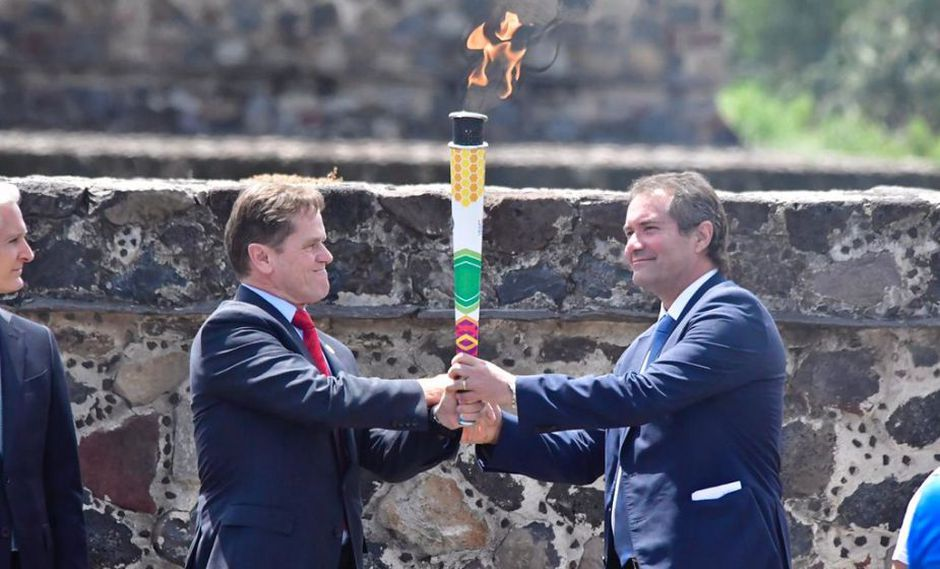 Lima 2019: Ya se encendió la Llama Panamericana en México y comenzó su ruta al Perú