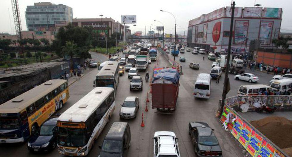 El tramo de la Carretera Central será cerrado por 2 años por Línea 2 del Metro de Lima. (Foto: Andina)