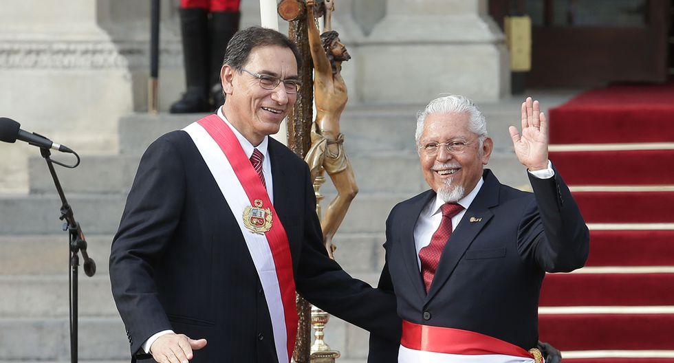 Javier Piqué, ministro de Vivienda, Construcción y Saneamiento. Renunció junto a César Villanueva. (Foto: GEC)