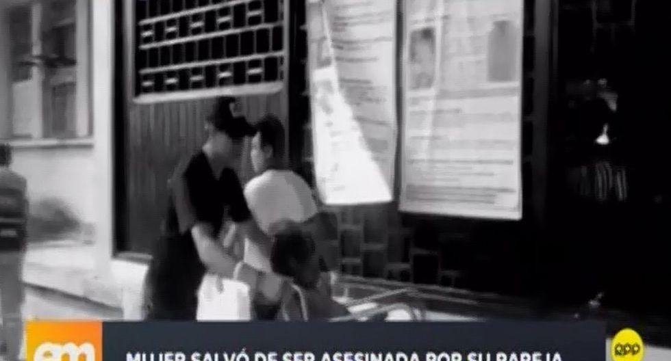Pese al ataque,Norma Pérez Córdovano denunció a su agresor. (Captura: RPP Noticias)