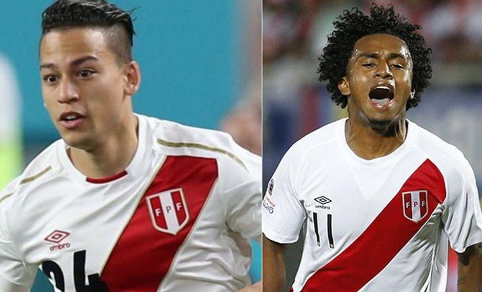 Cristian Benavente y Yordy Reyna son la sorpresa dentro de la lista de convocados (Fotos: USI)