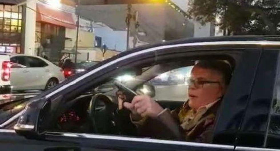 Licencia de conducir se encuentra habilitada luego de haber sido suspendida hace dos meses por el MTC. (Captura: Twitter)