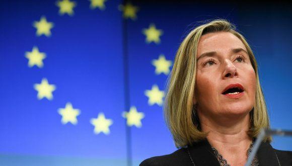 Maja Kocijancic, portavoz de Exteriores de la Unión Europea se reafirmó en que no debe haber una intervención militar en Venezuela.(Foto: AFP)