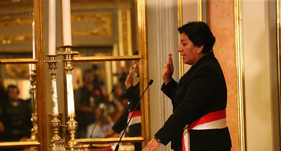 A mediados de noviembre del 2011, Vilca recibió críticas porque se reportó que tenía 17 concesiones mineras a su nombre y no figuraban en su declaración jurada como viceministra. (Foto: GEC)