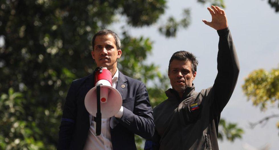 España confirma que Juan Guaidó y Leopoldo López se reunieron en su embajada en Caracas. (EFE)