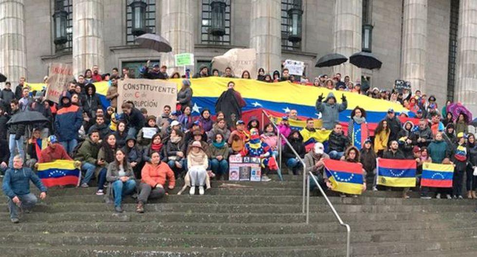Venezolanos migran cada vez más a Argentina. (Infobae)