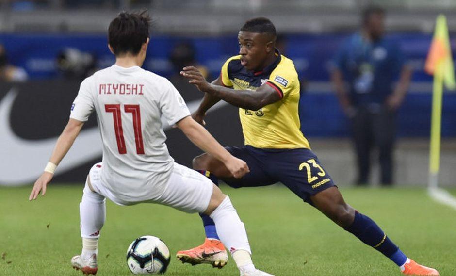 Ecuador vs. Japón se miden por la Copa América 2019. (Foto: AFP)