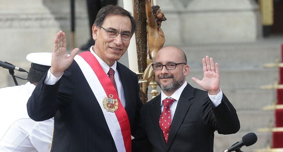 Christian Sánchez, ministro de Trabajo. Renunció el 8 de diciembre de 2018 por discrepancias con Vizcarra por la reforma laboral que busca impulsar el Gobierno, sobre todo en temas relacionados a competitividad. (Foto: GEC)