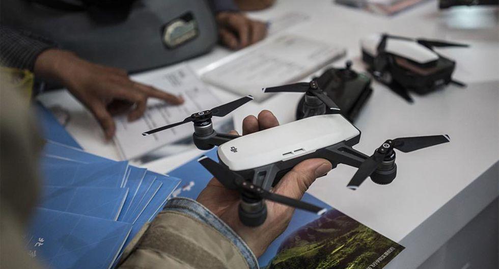 En 2017, el ejército estadounidense prohibió el uso de los drones DJI por motivos de seguridad. (AFP)