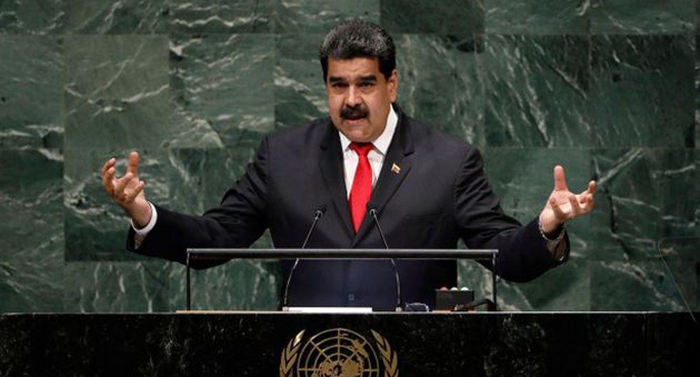 Maduro buscó presentar su