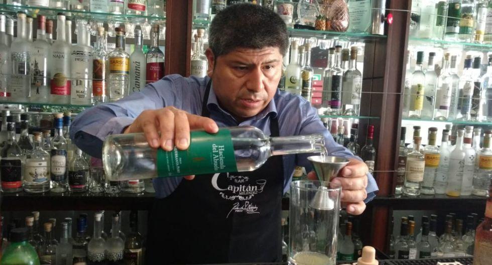 El barman recomienda utilizar pisco de sepa quebranta o la negra criolla para preparar este refrescante cóctel. (Kenyi Coba)