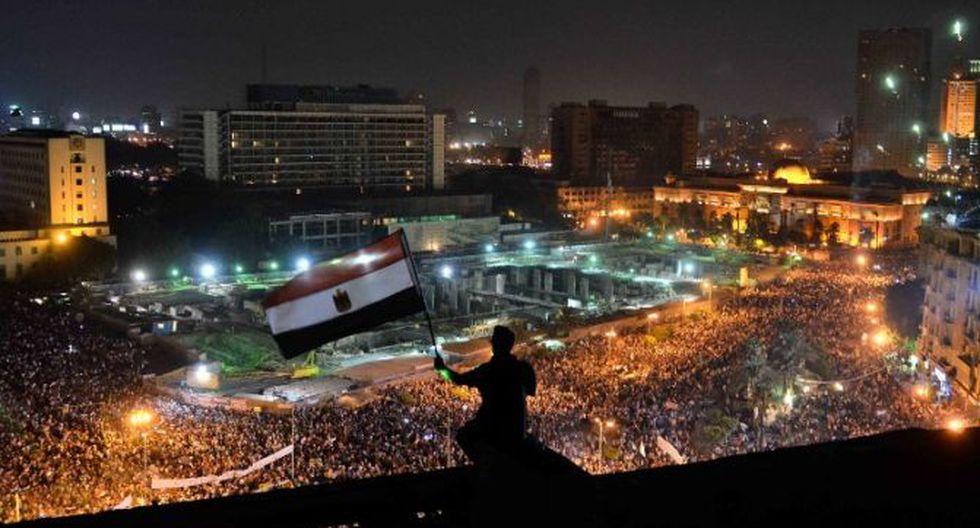 Celebran la intervención militar en Egipto contra el ex presidente Mohamed Mursi (Foto: AFP)