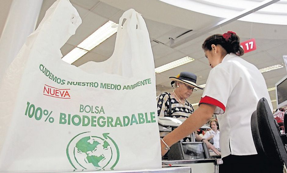 Ministerio del Ambiente llama a empresas y consumidores a eliminar el uso excesivo de bolsas de plástico (Foto: USI)