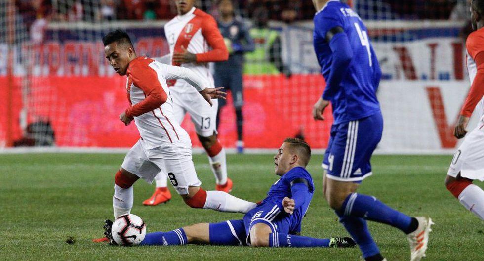 La selección peruana enfrentará a Paraguay en el debut rumbo a Qatar 2022. (Foto. EFE)