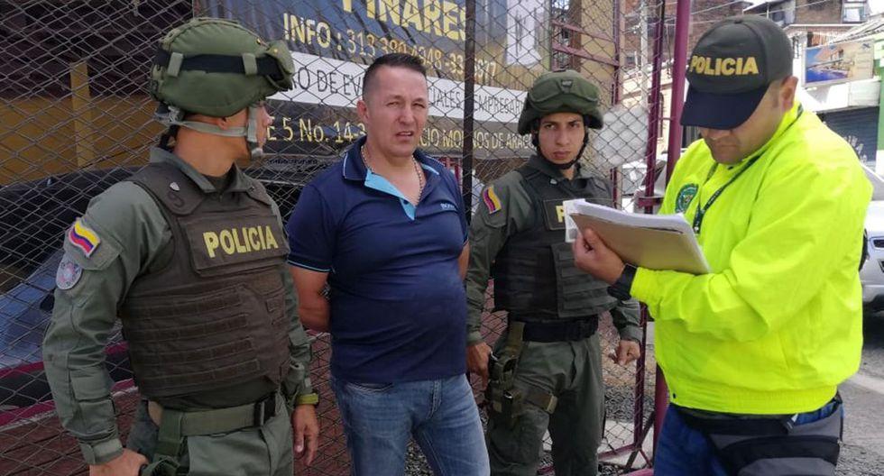 """El narcotraficante, que es pedido en extradición por EE.UU., tenía vínculos con el Cartel de Sinaloa y con la banda """"La Cordillera"""". (EFE)."""