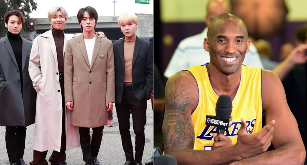 Fans de BTS (ARMY) se pronuncia en Twitter tras la muerte de Kobe Bryant. (Foto: @recordingacademy/AFP)