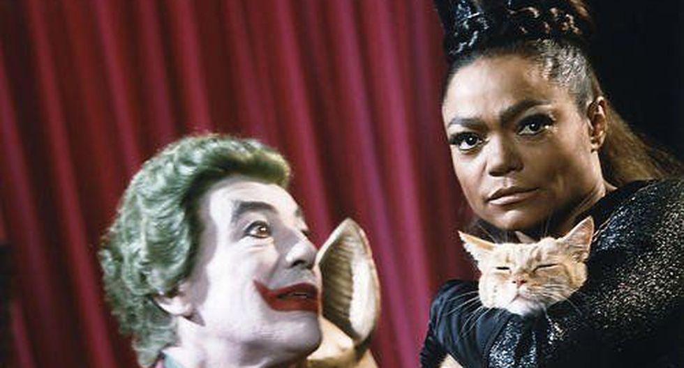 Eartha Kitt en la serie 'Batman'.