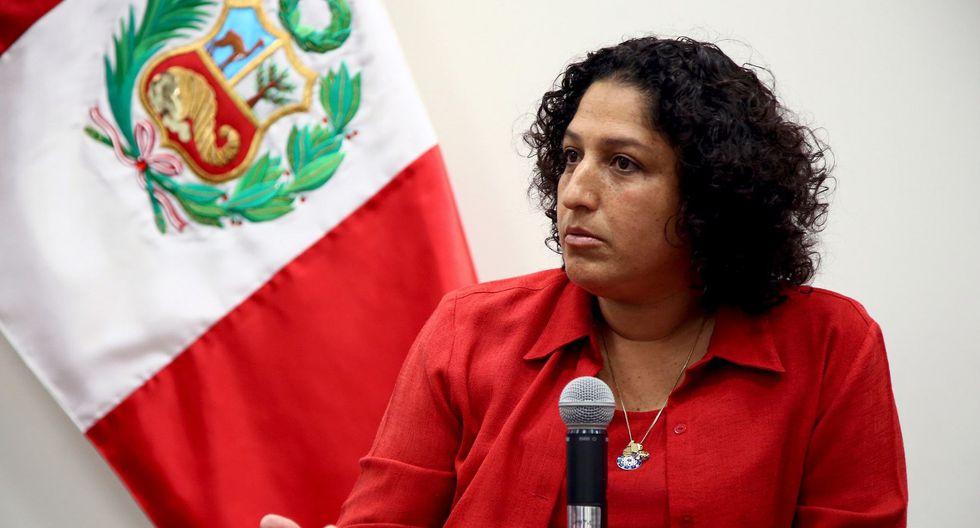 Fabiola Muñoz resaltó el trabajo que se hace desde el Ministerio de Desarrollo e Inclusión Social. (Foto: Andina)