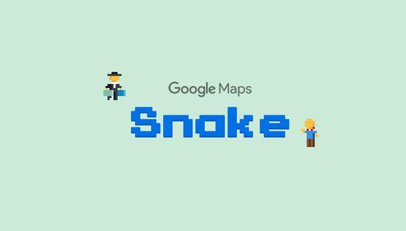 ¿Deseas jugar Snake en Google Maps y así recordar los inicios del 2000? Este es el truco apto para nostálgicos. (Foto: Google)