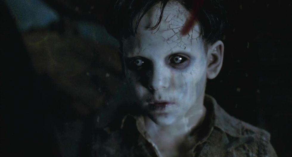 """1. Santi, """"El Espinazo del diablo"""" 2001. Guillermo del Toro viene preparando lo mejor de su terrorífico repertorio con su nueva película """"Historias de miedo para contar en la oscuridad"""". (Captura de pantalla)"""