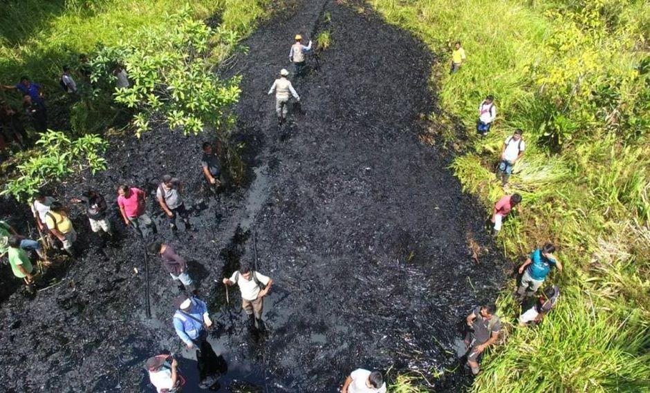 Loreto: inician recuperación de zona afectada por derrame de petróleo | FOTOS