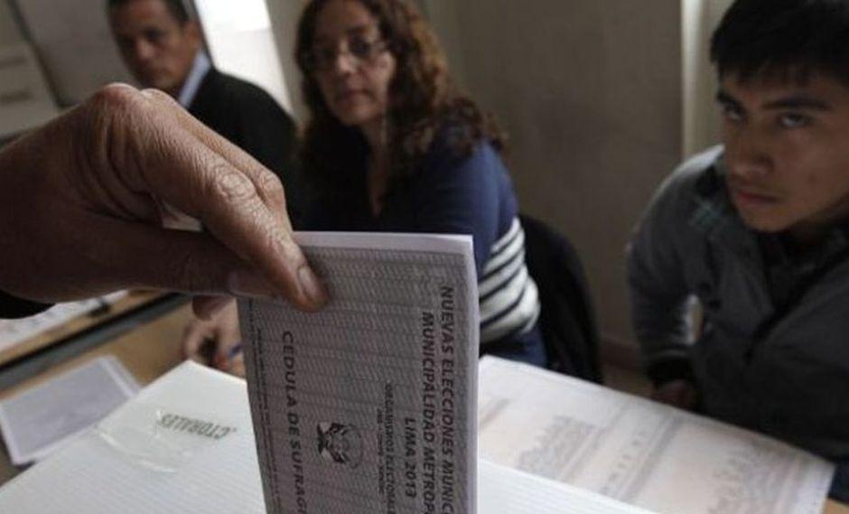 Así es como debes marcar para que tu voto no sea considerado como nulo